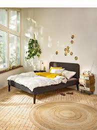 Schlafzimmer Bett Pinterest Erstaunlich Graues Bett Geraumiges
