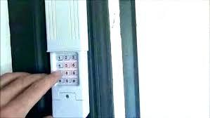 keypad garage door opener home depot