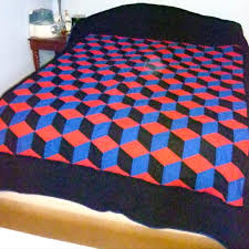 3d Quilt Patterns New 48d Bed Quilts Easy 48d Quilt Patterns Tumbling Block Quilt 48d 48d
