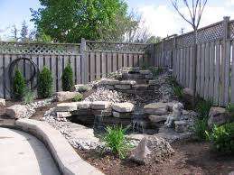Small Picture Backyard Waterfall Design Backyard Waterfall Photos Better Home