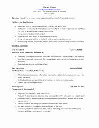Tutor Resume Example Tutor Resume Sample Elegant Tutor Resume Sample Resume Samples 2