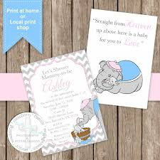 Dumbo Quotes Interesting Inspirational Baby Shower Quotes Email Invites Elegant Sweet Dumbo