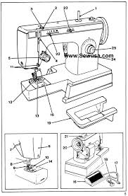 Singer sewing machine manual instruction and repair manuals fair wiring