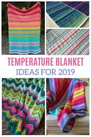 Temperature Blanket Crochet Pattern Ideas For 2019