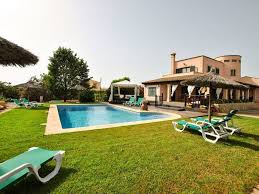 charming villa with private pool and chillout near the beautiful es trenc beach