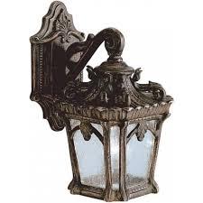 tournai traditional victorian gothic style garden wall lantern small