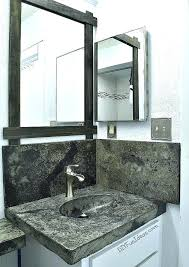 diy concrete bathroom countertops how to make a concrete or vanity top with integral sink