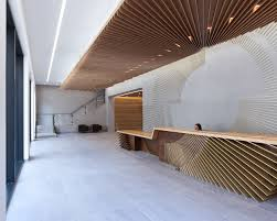 reception desk design wood