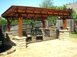 Rustic Outdoor Kitchen Designs Pictures Build Grill Cooking