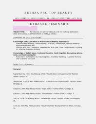 12 Luxury Sample Cover Letter For Makeup Artist Resume Template