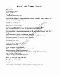 Testing Sample Resumes Selenium Resume Updated Selenium Great Qa Manual Tester Sample 38