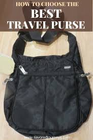 having trouble finding the best travel purse this guide will help you choose the right