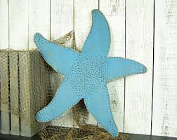 large starfish decor wooden starfish wall decor wood starfish decorations large beach wall art large coastal decor wooden beach decor on wooden beach themed wall art with beach wall art etsy
