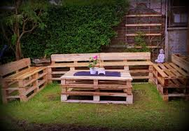 garden furniture pallets. reclaimed pallet outdoor sitting furniture set garden pallets l