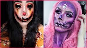 12 creepy but cool makeup ideas makeup tutorial 2018