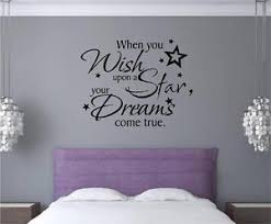 image is loading when you wish upon a star dreams vinyl  on adhesive wall art letters with when you wish upon a star dreams vinyl decal wall art stickers
