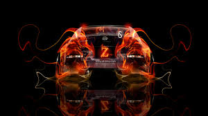 nissan 350z jdm tuning fire abstract car