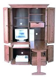 armoires small computer armoire desk compact computer deluxe computer desk home styles compact computer desk