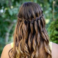 fresh waterfall braid