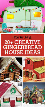 easy creative gingerbread house ideas. Perfect Gingerbread These Gingerbread House Ideas Are Creative And Double As Dessert For  Holiday Parties Decorate Your With An Adorable Cozy Pretzel Cabin That Is  Intended Easy Creative Gingerbread House Ideas U