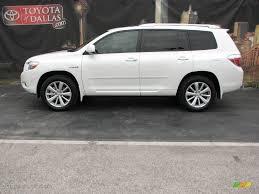 2008 Blizzard White Pearl Toyota Highlander Hybrid Limited 4WD ...
