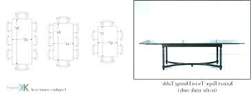 dining table dimensions