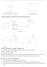 touch lamp switch wiring diagram Touch Switch Wiring Diagram #24