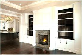 built ins around fireplace with desk tv built ins around fireplace