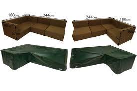 oceans rattan l shaped sofa covers