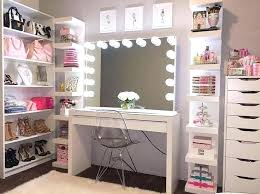 makeup vanity with shelves makeup room ideas organizer storage and decorating home room bedroom makeup rooms