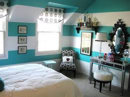 teenage girl bedroom ideas 2016. Interesting Stripped Painting For Teen Girl Bedroom Interior With Retro Style Furniture Teenage Ideas 2016 C