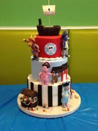 Backyardigans Pirate Themed Birthday Cake Cakecentralcom