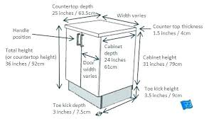 Standard Kitchen Base Cabinet Sizes Chart Standard Base Cabinet Sizes Ameliahomeremodeling Co