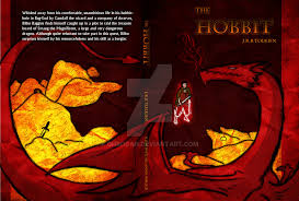the hobbit book cover by ohrogan