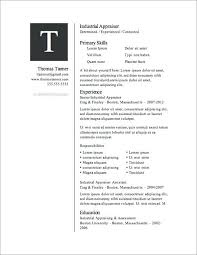 Resume Templates Free Printable Inspiration Resume Templates To Print For Free Here Are Some Best Collection Of