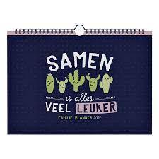Familiekalender 2021 Mr Wonderful kopen ...