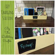 Hanging Charging Station The Dabbling Crafter Diy Charging Station