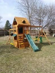 20 Best Play Structure For Mom And Dads Images On Pinterest  Play Big Backyard Ashberry Wood Swing Set