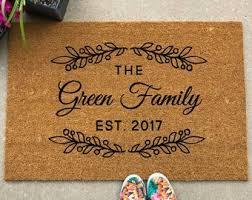 Image Pottery Barn Welcome Mat Custom Doormat Customized Doormat Custom Welcome Mat Housewarming Gift Closing Gift Personalized Welcome Mat Etsy Large Welcome Mat Housewarming Gift Closing Gift Custom Etsy