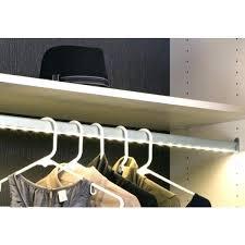 led closet rod diy