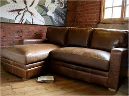 sofa sofa l small sectional couch distressed leather sectional in rustic leather couch ideas