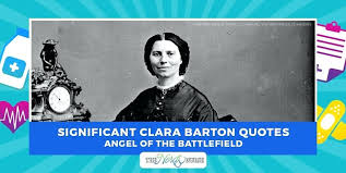 Clara Barton Quotes Amazing Appealing Clara Barton Quotes BakuLand