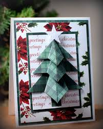 Tea Bag Fold Christmas Tree Center Step Card I Played With