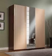 image mirror sliding closet doors inspired. Closet \u0026 Storage. Fascinating Wooden Ideas With Mirror Panel For Modern Bedroom Inspiration. Image Sliding Doors Inspired O