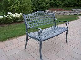 aluminum garden bench. Perfect Aluminum Wonderful Aluminum Outdoor Bench Garden Alcott Hill Closson  Cast With A
