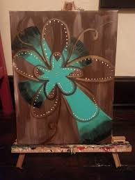 large canvas cross painting venue change 10462574 1395928587296135 3002472503334514985 n