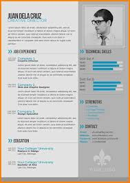 Examples Of A Modern Resume 6 Examples Of Modern Cv West Of Roanoke