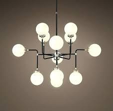 chandeliers milk glass chandelier bistro globe in brass light modern martha stewart