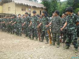 Kuki National Front (KNF) arms deposition to GOI under SOO :: Sept 15 2010  ~ Pictures from Manipur