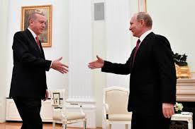 Treffen in Moskau: Putin und Erdogan feilschen um Nordsyrien - Politik -  Tagesspiegel